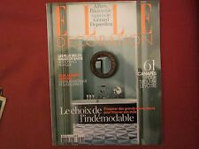 MAGAZINE ELLE DECORATION No 213   L incroyable maison de Gerard  Depardieu