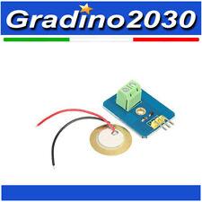 Piezoelettricità  analogico sensore vibrazione piezo ceramico per Arduino UNO re