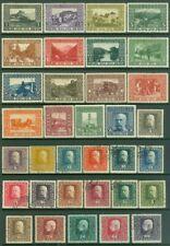 Edw1949Sell : Bosnia 1910-16 Scott #46-61 Vf Mog, #86-104 Vf Used. Catalog $120.