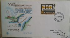 1972 First Transmission over water Marconi and Kemp  Fancy Cancel