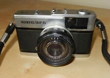 Olympus Trip 35 35mm Camera With Silver Button