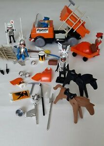 Playmobil Konvolut Unimog, Zubehör, Ritterfiguren