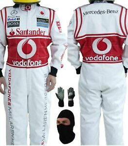 VODAFONE GO KART RACE SUIT CIK/FIA LEVEL 2 APPROVED WITH FREE GIFTS INCLUDED