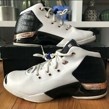 5a2ba271266 New ListingNIKE AIR Jordan XVII 17+ Copper Retro 832816-122 SIZE 12 MEN'S  White/Black/Gold