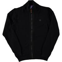 Size M Rangers FC Black Textured knit Cardigan Badge Logo RRP í«̴å£45