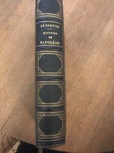 Histoire de Napoleon.. De Norvins..Donné  par l Empereur+ Napoleon, de Bainville