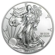 WALKING LIBERTY SILVER BULLION COIN USA AMERICAN EAGLE 1oz 2012