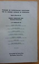 Problemas de Lectura y lengua en Puerto Rico Ismael Rodriguez Bou 1948