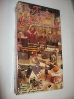 Vintage 1998 Toy Trains & Christmas 2 SEALED VHS Dept. 56 Lionel Plasticville