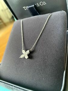 Tiffany Victoria Necklace Large Brand New