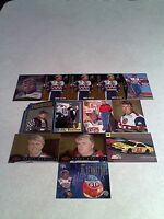 *****Bobby Hamilton*****  Lot of 13 cards.....10 DIFFERENT / Auto Racing