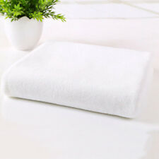 White Towel Microfiber Drying Absorbent Bath Beach Towel Car Wash Cloth Cleaning