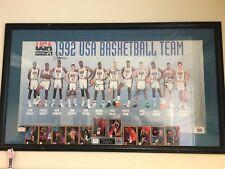 Michael Jordan Rookie Auto&1992 USA Dream Team Autographed Poster - AMAZING!!