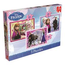 Jumbo Games 17441 Disney Frozen Trio Jigsaw Puzzles