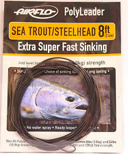 AIRFLO Polyleader Sea Trout/Steelhead 8ft/2,40Mtr. EXTRA SUPER FAST SINKING