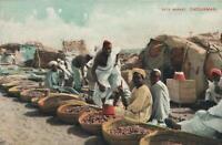 EARLY 1900's VINTAGE DATE MARKET, OMDURMAN SUDAN POSTCARD - UNUSED VG
