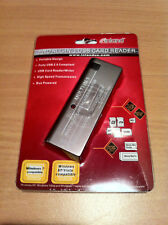 Inland Pro All-In-1 USB Card Reader Bus Powered Portable Design USB 2.0 - NEW