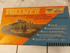 VOLLMER 200 /76 7-9 - Auffahrt gebogen - H0 - in alter OVP -- Modellbausatz 2