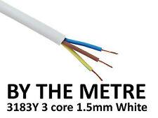 Blanco De Pvc De Cable Flexible Flex 3: núcleo 1.50 mm 3183y Se Vende Por Metro