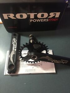Crankset Rotor REX3 Single 30t New
