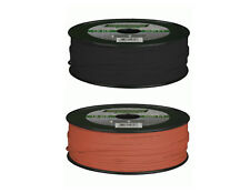 500' BLACK, 500' RED METRA Install Bay 18 Gauge Primary wire COMBO