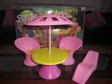 Mattel ~ Barbie Patio Pool Party Partial Set