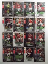 Panini WCCF 2010-11	Manchester United complete 16 cards set