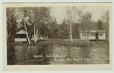 - RPPC Pointe au Baril Ontario Canada  Camp Ge-Kay-Da 1940s  Real Photo Postcard