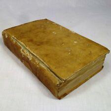 18th Century French Book 1778 Explication Litterale Dogmatique Et Morale Gospels