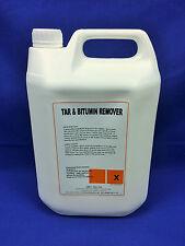 Tar & Bitumen Remover 5 Litre Industrial Strength (Best on the Market)