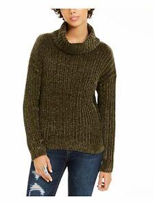 HIPPIE ROSE Womens Green Long Sleeve Blouse Juniors Size: S