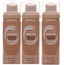 Lot of 3 MAYBELLINE Dream Nude Airfoam Air-Infused Foundation - 350 Caramel