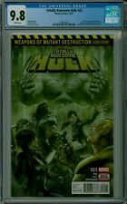 Totally Awesome Hulk #22 CGC 9.8 white pages WEAPON H Hulkverine 1259636011