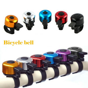 Aluminum Alloy Bike Bell Bicycle Handlebar Ring Horn Cycling Loud Sound Alarm