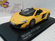 """Minichamps 537154430 - McLaren 675LT Spider Bj. 2016 """" Volcano Yellow """" 1:43 NEU"""