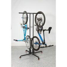 Mobile Bike Storage Rack, Foldable, Store Six Bikes, Powder Coated, 42 in. Wide