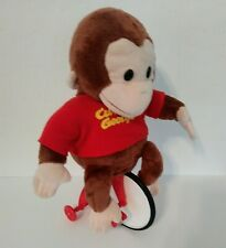 CURIOUS GEORGE Musical  Tricycle Plush Toy Doll Applause WORKS