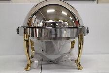Chafing dish cibi più caldo calore contenitore FAGOR cdsop-V Roll COPERCHIO ACCIAIO INOX 5l
