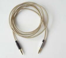 Upgrade Sliver Audio AUX Cable For SONY MDR-1R 1RBT 1RNC MDR-Z1000 MDR-7520