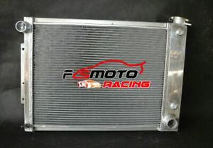 4 row Radiator For Chevy Camaro Pontiac Firebird Trans Am V8 5.0/5.3/5.7 67-69