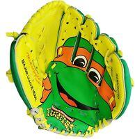 Vintage TMNT Baseball Glove 1990 MIKEY w/Tags Teenage Mutant Ninja Turtles **NOS
