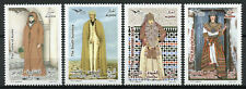 Algeria 2019 MNH Traditional Costumes of Mediterranean Euromed 4v Set Stamps