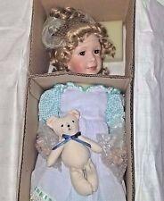 Ashton Drake Porcelain Doll Ashleigh Gingham Bows Collection COA Original Box