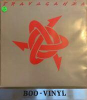 TRAVAGANZA S/T LP VINYL UK Aura 1984 10 Track (Aul727) Ex Con