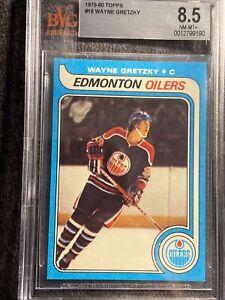 1979-80 Topps #18 Wayne Gretzky Rookie BGS  8.5 🔥🔥 Pristine Rare Card. Invest