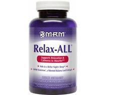 MRM Todo Relax con Gaba Muscle Relajador Ayuda para Dormir 60 Cápsulas
