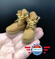 """TOYSDAO 1//6 scale Dark Samurai Solid boots Model For 12/""""  Male Doll"""