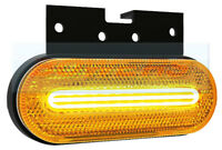 CAT 5 APPROVED COMBINED LED AMBER SIDE MARKER AND INDICATOR LIGHT LAMP 12V / 24V