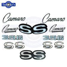 1969 Camaro Super Sport 396 Emblem kit 69 Grille Fender