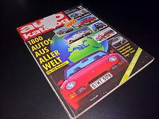 AUTOKATALOG Modelljahr 1992   Auto Katalog